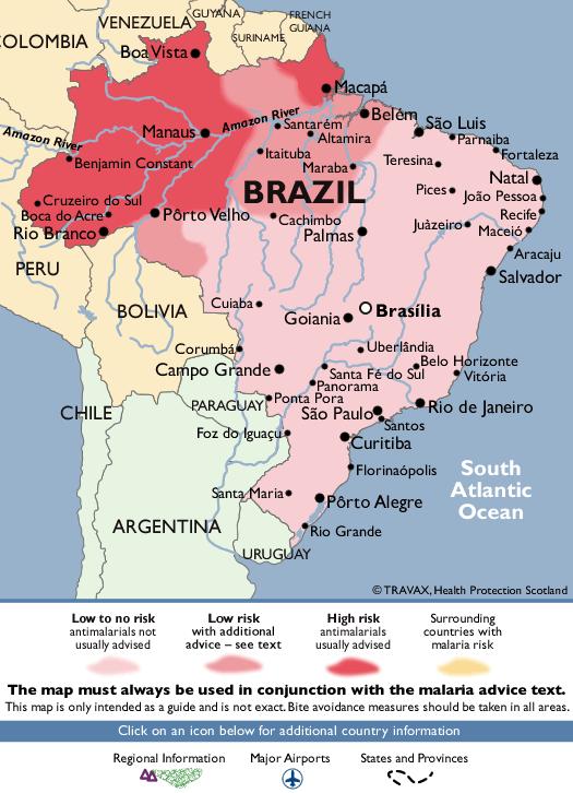BrazilMalaria Map