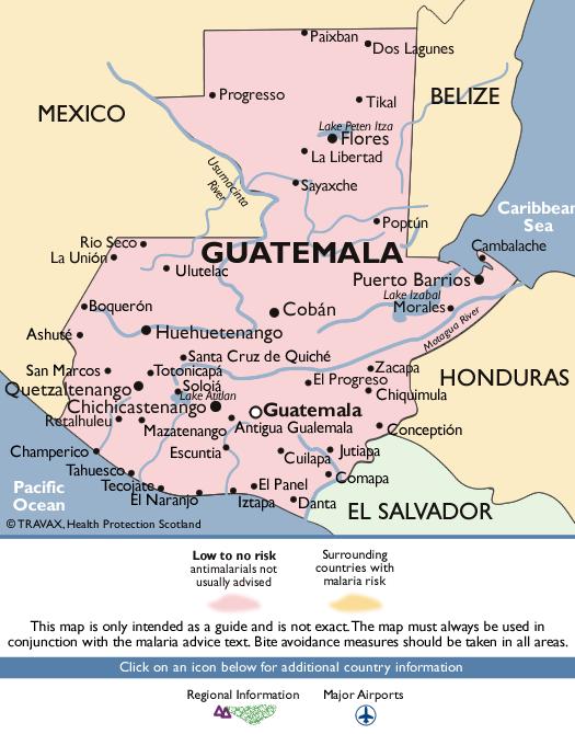 GuatemalaMalaria Map