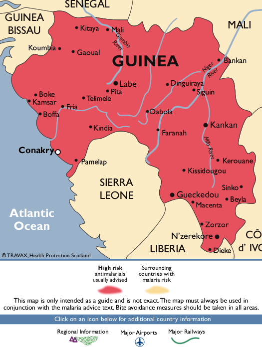 GuineaMalaria Map