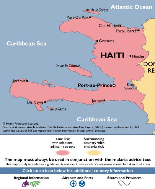 HaitiMalaria Map
