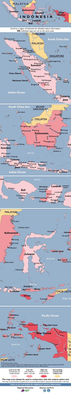 IndonesiaMalaria Map