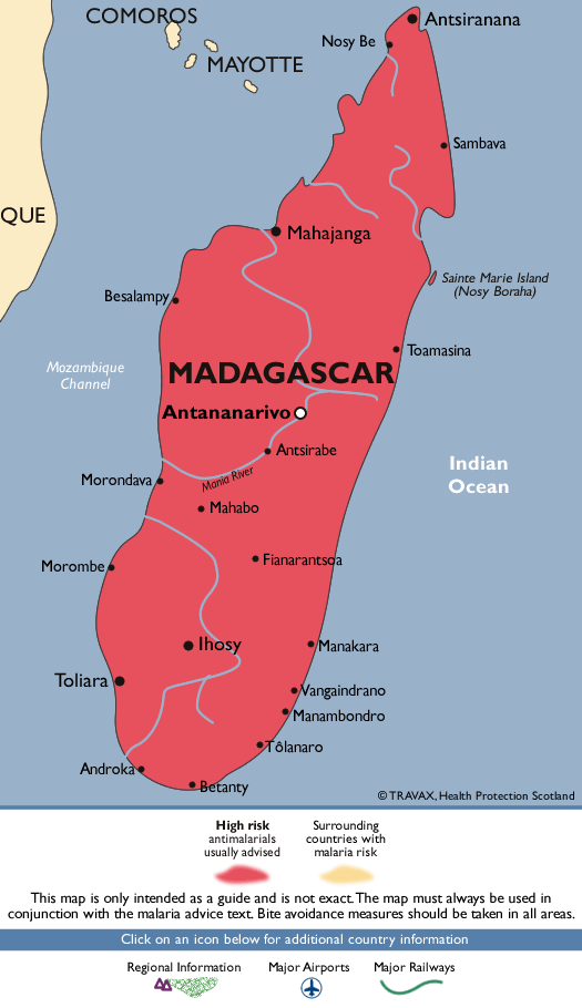 MadagascarMalaria Map