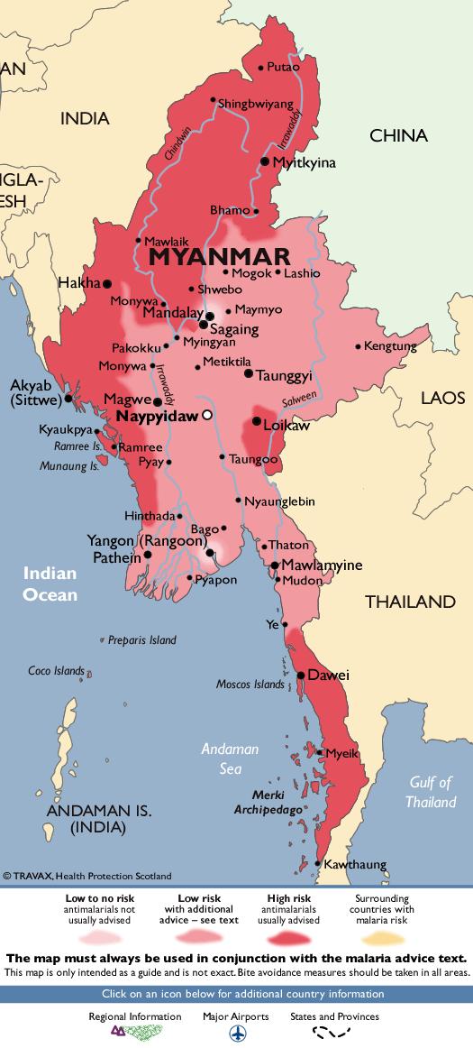 MyanmarMalaria Map