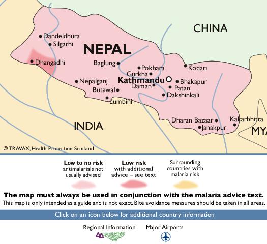 NepalMalaria Map