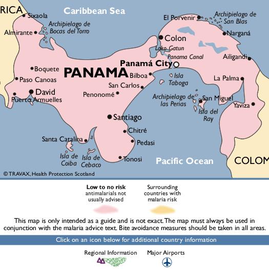 PanamaMalaria Map