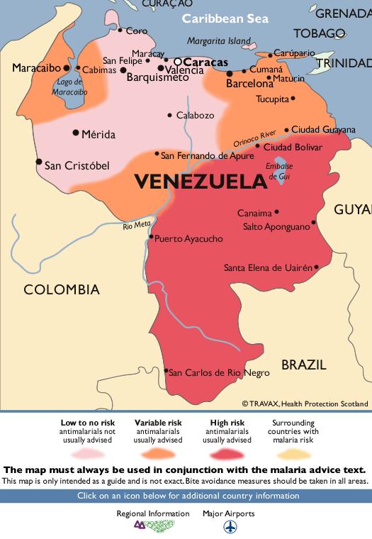 VenezuelaMalaria Map